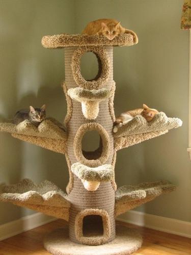 Игрушки домики для котов